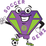 Image of the SoccerGemz Youth Soccer Mascot