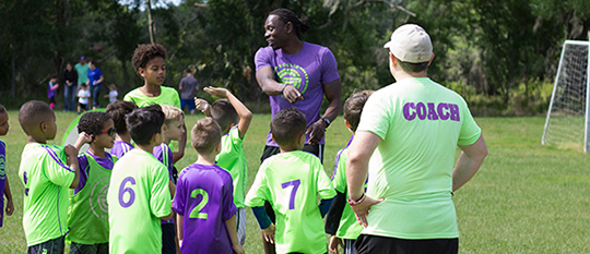 Image of Coach Jerome Teach Tampa Private Soccer Class
