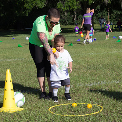 soccer, kids activities, skills challenge, mommy and me